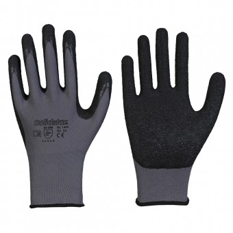 Nylon-Feinstrick-Handschuh mit Latex-Beschichtung