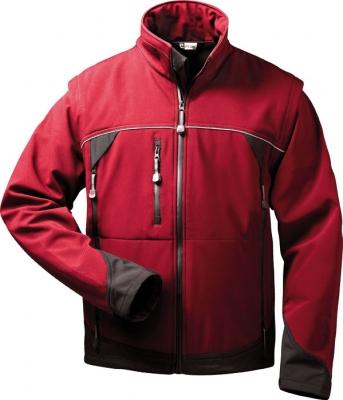 elysee® Softshell Jacke mit abnehmbaren Ärmeln Omega 20006