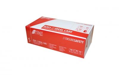 Dispatex Latex-Einmalhandschuhe,unsteril,vorgepudert,Rollrand