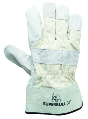 Superbull 3 TOP-Rindnarbenleder Handschuhe