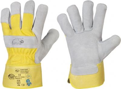 stronghand® Rindspaltleder-Handschuhe Mammut
