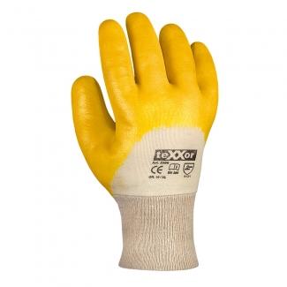 teXXor® Nitril-Handschuhe STRICKBUND