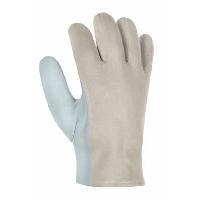 Nappaleder Handschuhe mit Köperrücken texxor