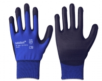 LeiKaTech Nylon-Feinstrick-Handschuh mit PU-Beschichtung