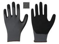 Nylon-Feinstrick-Handschuh mit Mikro-Schaum-Latex-Beschichtung