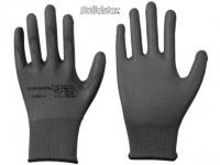 Solidstar Feinstrick-Handschuh mit PU-Beschichtung grau