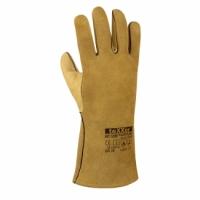 Fudshijama Top voll-/Spaltleder-Schweißerhandschuhe,gelb 35