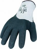 Strick Winter Handschuh mit Latex Beschichtung 3675