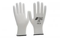 NItras Nylon-Handschuhe,weiß,ohne Beschichtung