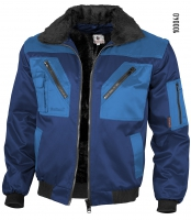 Qualitex Pilotenjacke marine/royal 100040