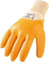 Arbeitshandschuh Nitril gelb 3402