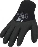 Strick Winter Handschuh mit HPT Beschichtung  3677V