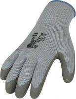 Strick Winter Handschuh mit Latex Beschichtung  E3675