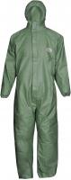 CoverStar® EInweg Chemieschutzoverall grün Cs502