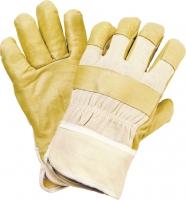 88Pawa (88Pasa) Schweinsvollleder-Handschuhe gestreift 1006