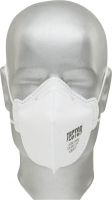 Tector® Feinstaub-Faltmaske P2 ohne Ausatmungsventil