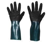 Chemikalienschutz-Handschuhe aus Polyvinylchlorid 1382
