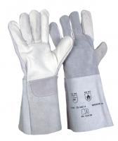 5-Finger-Kombi naturfarben Schweisserhandschuhe