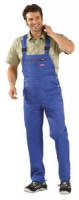 Planam Latzhose Mischgewebe 290 Gramm, kornblau