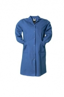 Planam Damen Berufsmantel 1/1 Arm Baumwolle, kornblau