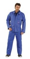 Planam Hitz-/ Schweißerschutz 360g/m² Jacke, kornblau