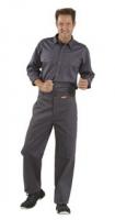 Planam Hitz-/ Schweißerschutz 400g/m² Bundhose, grau
