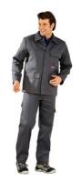 Planam Hitz-/ Schweißerschutz 500g/m² Jacke, grau