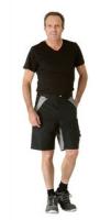 Planam Shorts Plaline, schwarz/ zink
