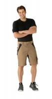 Planam Shorts Plaline, sand/ schwarz