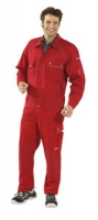Planam Bundjacke Canvas 320, rot