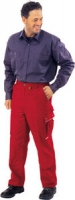 Planam Bundhose Canvas 320, rot