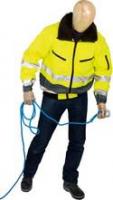 Prevent Warnschutz-Pilotenjacke, gelb, grau