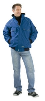 Planam Winter-Blouson Canvas 320, kornblau