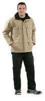Planam Winter-Parka Canvas 320, grün
