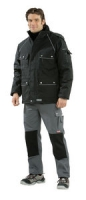 Planam Winter-Parka Canvas 320, schwarz