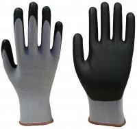 Skin Clean Nylon Handschuhe mit PU Beschichtung