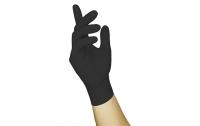 NITRAS BLACK SCORPION, Einmalhandschuh aus Latex, schwarz