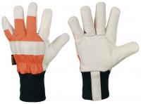 Forst-Rindvollleder-Handschuhe Lärche