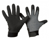 morepic-1 morepic-2 Baumwoll-Feinstrick-Handschuh mit HPT - Beschichtung • Klettverschluss • CE CAT 2