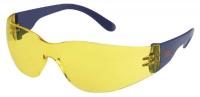 Tector Schutzbrillen Basic, Sichtscheibe gelb getönt