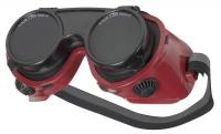 Tector Schweißerklappbrille