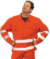 PLANAM uni orange 85 % Polyester, 15 % Baumwolle