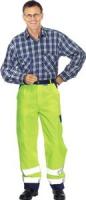 PLANAM Bundhose 2 farbig, gelb, marine 85 % Polyester, 15 % Baum