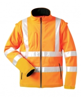elysee Warnschutz-Softshell Jacken 100% Polyester