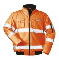 SAFESTYLE Warnschutz Pilotjacken TOM , uni floureszierend 100% P