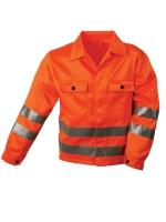 SAFESTYLE Warnschutz Jacke ALOIS 80% Polyester, 20% Baumwolle