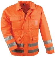 SAFESTYLE Warnschutz Jacke LINDE mit Schnittschutz 70% Polyester