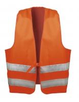 wicaTex Textil Warnwesten ERNST 80% Polyester, 20% Baumwolle