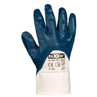 teXXor® Nitril-Handschuhe STULPE