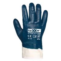 teXXor® Nitril-Handschuhe STULPE voll-beschichtet